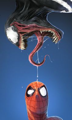 What The..?    MARVEL 01 VENOM by DanLuVisiArt
