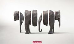 Scrabble Campaign | Fubiz™ #scrabble
