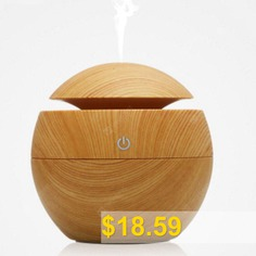 Aroma #Essential #Oil #Diffuser #130ML #Aromatherapy #Cool #Mist #Humidifier #- #FALL #LEAF #BROWN
