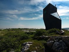 A towering artist's studio on a Canadian island | The Fox Is Black