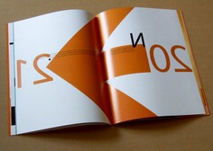 Promotional Booklet Designs - Left handed Year