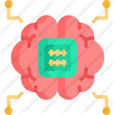 See more icon inspiration related to ui, robotics, brain, artificial intelligence, electronics, chip, engineering, industry, technology and computer on Flaticon.