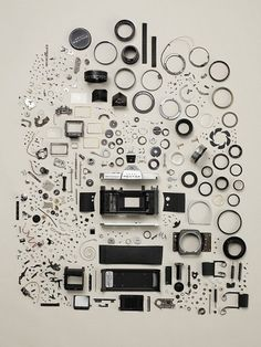 Disassembled Objects | Fubiz™ #camera #photo