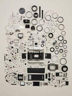 Disassembled Objects | Fubiz™