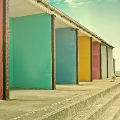 colorful walls&a dog | Flickr - Photo Sharing! #walls #photography #colors #colour
