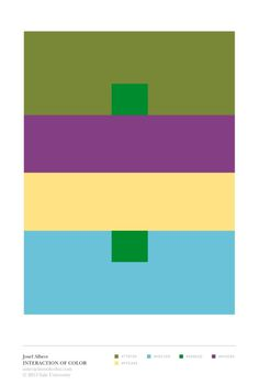 Albers App Colors Interaction on Facebook and Pinterest | Yale Press Log