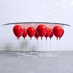 Up Balloon Coffee Table Round by Duffy London - HomeWorldDesign (12) (Custom) #coffee #design #table