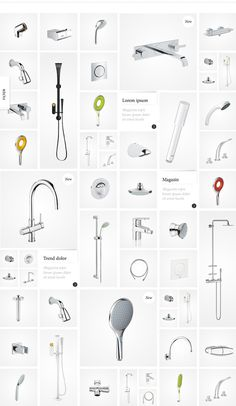 GROHE / Enjoy Water on Behance #design #grid #webdesign #layout #web