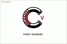 Logos #id #design #graphic #veronica #brand #camilo #velasquez #logo