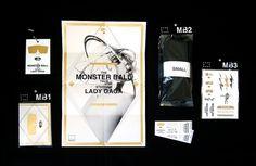 Haus of Gaga : Tanner Glaves #music #stationary #identity #branding