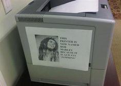 This Printer Is Named Bob Marley | LauraJul #bob #marly
