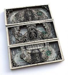 WANKEN - The Art & Design blog of Shelby White #cut #skull #laser #dollars