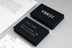 Verdi #branding #barnab #cinema #verdi #patrice #typewriter