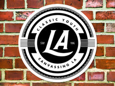 Canvassing LA by Brandon Roosa — Kickstarter #youth #logo #classic #la