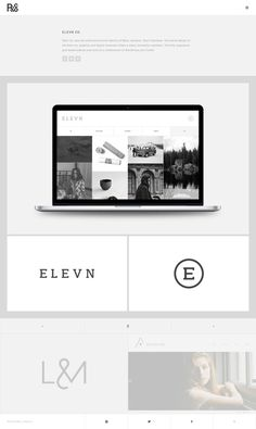 R&Co. Website http://r-ny.com/ #grid #design #web #minimal