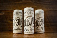 Beautiful Sunshine Beverage Co. packaging #packaging #beverage
