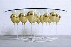 Up Balloon Coffee Table Round by Duffy London - HomeWorldDesign (9) (Custom) #coffee table #design