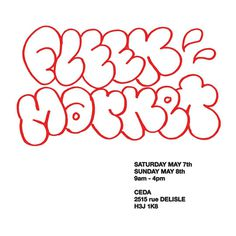 #fleek #poster #flyer #throwup #graffiti