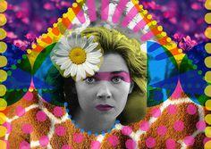 Vamos a bailar | Peperina Magenta #creative #arte #amor #woman #color #pinup #digital #ilustraciã³n #vintage #ilustration #art #collage #colour #love #work