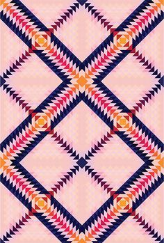 geometric pattern #tumblr #pattern #geometric #pantone #collage