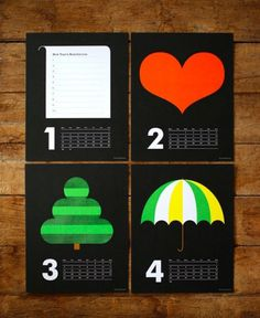 design work life » cataloging inspiration daily #bunting #calendar #black #the #indigo #illustration