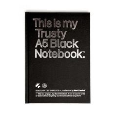 Pantonism #notebook #black