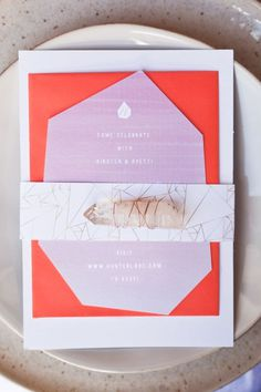 Geometric invite #geometric inviation