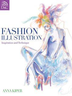 fashion illustration technique anna kiper