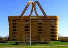 The Basket Building (Ohio, United States) #building #house #interesting #basket