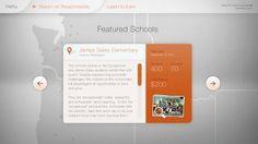 Umpqua Discover Wall - Work - Instrument #digital #interactive #interface