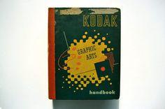 Kodak Graphic Arts Handbook, 1st Edition Artwork published in 1955. #50s