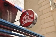 Marly's Kitchen on Behance #kitchen #branding #restaurant
