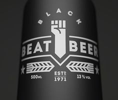 Beat Beer Bottle #packaging #beer