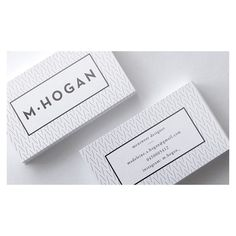 Branding / M.Hogan - Imogen Grist Portfolio - The Loop