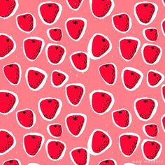AmyWalters_SummerFruitsBerries_02 #pattern #fruit