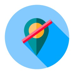 See more icon inspiration related to maps and location, ui, Maps and Flags, map pointer, map point, map location, placeholder, pin, interface and signs on Flaticon.
