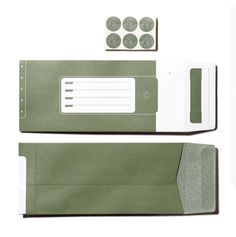 theCOUNTERcorps Identity System #army #stationery #identity #green