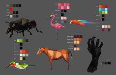 http://farm6.static.flickr.com/5226/5741503382_e601cd06b7_b.jpg #design #graphic #color #illustration #animals