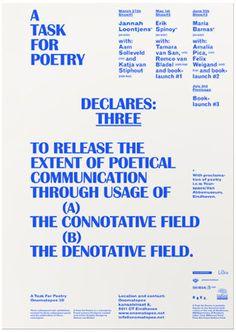 Remco van Bladel #bladel #van #poster #remco #typography