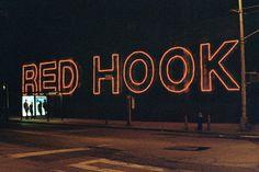 http://25.media.tumblr.com/8c78b7675d3f308d7cae6b371c1d433f/tumblr_mkavunhhOJ1rrtxd8o1_1280.jpg #lettering #red #hook #new #york #brooklyn #neon