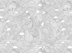 Loreak Mendian, Emil Kozak Designstudio #kozak #emil #illustration