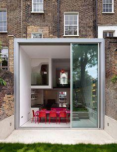 desire to inspire desiretoinspire.net #steel #pink #fishbowl #glass #hot #architecture
