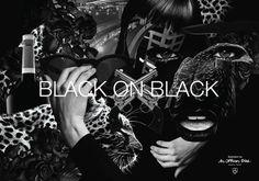 RIOT for PEACE : BLACK on BLACK Collage (AUG 2012) #poster #illustration #art