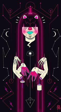 Splendid Illustration Work of LaB LaB