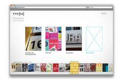 Monina Velarde #web #simplistic #typography