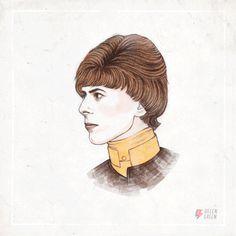 Bowie - gif - Helen Green