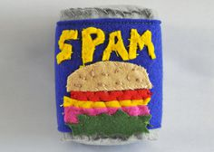 The Felt Cornershop by Lucy Sparrow sells hand-stitched groceries #mixed #spam #felt #media