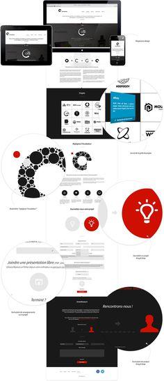 CelluleGrise website by Fabrice Vrigny #website #webdesign
