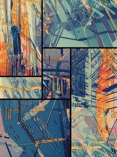 OUTPOST on the Behance Network #abstract #fi #sci #the #illustration #future