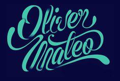 Oliver Mateo by Gerardo Martinez Aviña #type